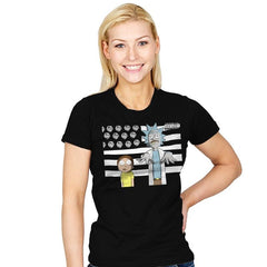 So Schwifty, So Clean - Womens - T-Shirts - RIPT Apparel