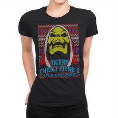 Merry Christ-Myah-s! - Ugly Holiday - Womens Premium - T-Shirts - RIPT Apparel