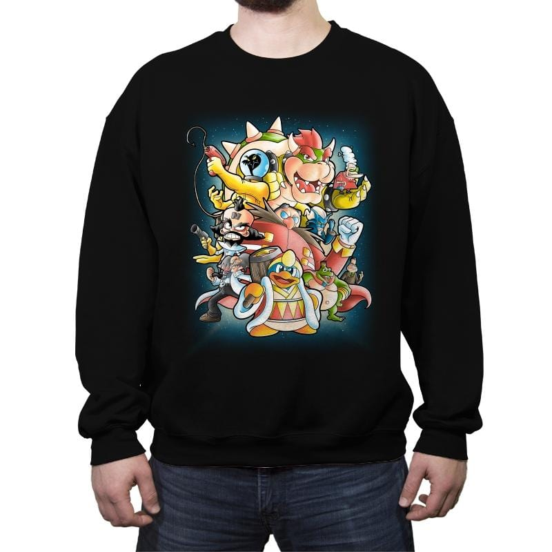 Villains - Crew Neck Sweatshirt - Crew Neck Sweatshirt - RIPT Apparel