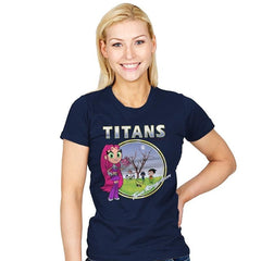 TITANS - Womens - T-Shirts - RIPT Apparel