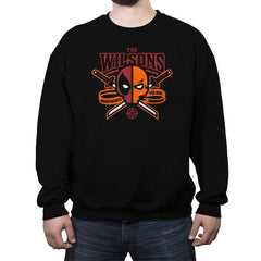 The Wilsons Reprint - Crew Neck Sweatshirt - Crew Neck Sweatshirt - RIPT Apparel