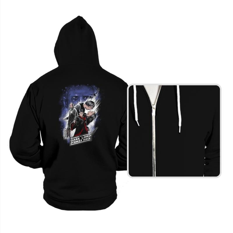 Dark Lord Strikes Back - Hoodies - Hoodies - RIPT Apparel