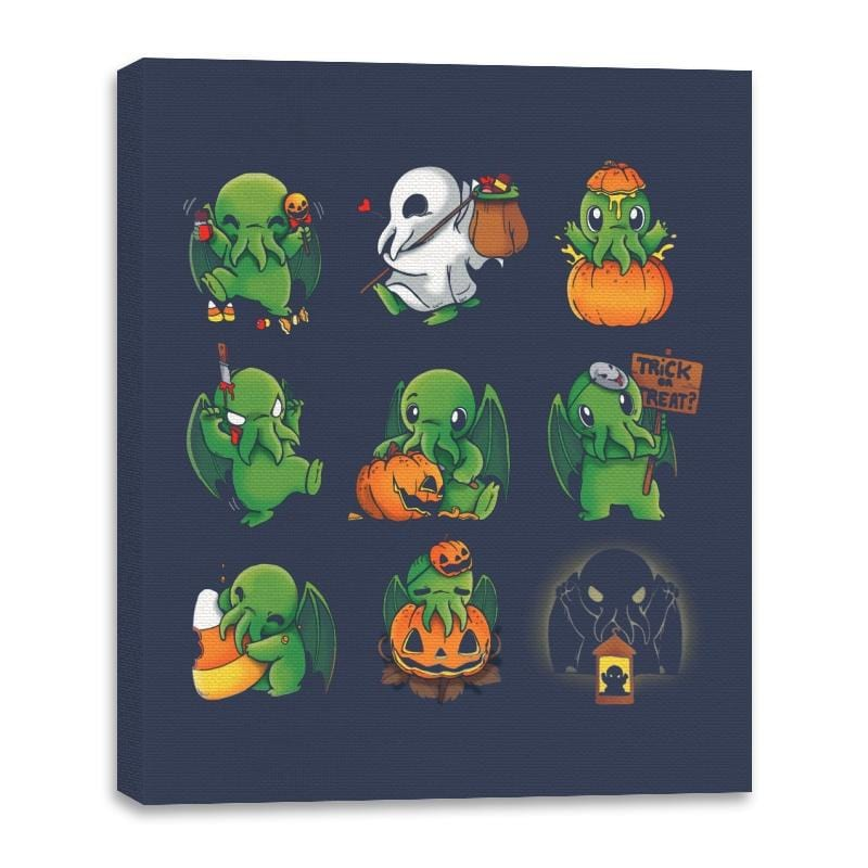 Call of Halloween - Canvas Wraps - Canvas Wraps - RIPT Apparel