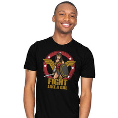Fight like a Gal - Mens - T-Shirts - RIPT Apparel