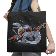 Jurassic Spark Exclusive - Tote Bag - Tote Bag - RIPT Apparel