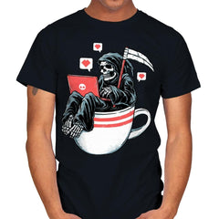 Love Death and Coffee - Mens - T-Shirts - RIPT Apparel