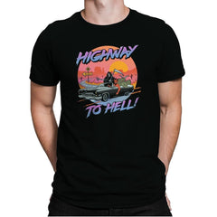 Highway to Hell - Mens Premium - T-Shirts - RIPT Apparel