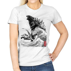 The Rise of Gojira - Womens - T-Shirts - RIPT Apparel