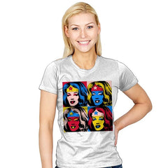 Pop Wonder - Womens - T-Shirts - RIPT Apparel