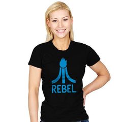 Rebel Gamer - Womens - T-Shirts - RIPT Apparel