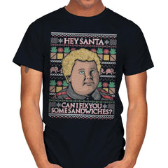 Sandwiches for Santa - Mens - T-Shirts - RIPT Apparel