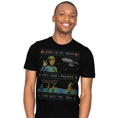 Gift Long and Prosper - Ugly Holiday - Mens - T-Shirts - RIPT Apparel