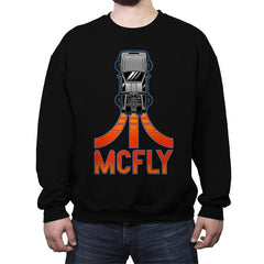 McFly - Crew Neck Sweatshirt - Crew Neck Sweatshirt - RIPT Apparel