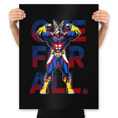 One For All - Prints - Posters - RIPT Apparel