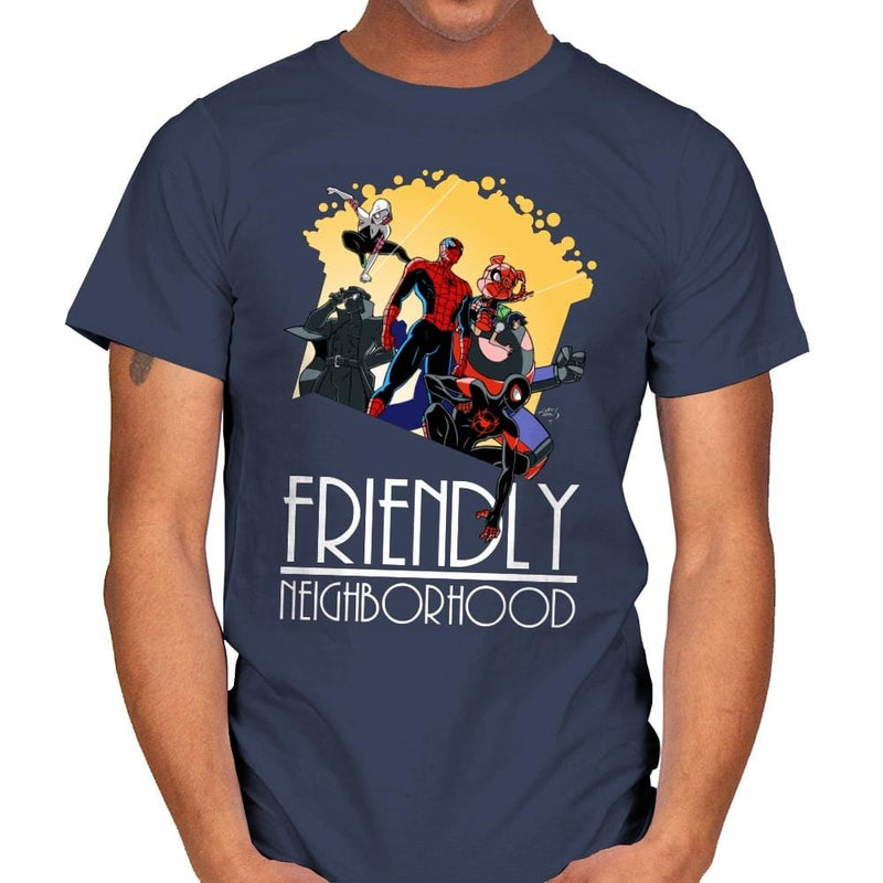 Friendly Neighborhood - Anytime - Mens - T-Shirts - RIPT Apparel