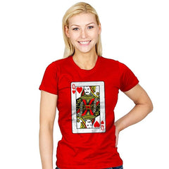 Queen Card - Womens - T-Shirts - RIPT Apparel