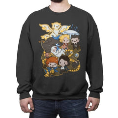 Magic Beasts - Crew Neck Sweatshirt - Crew Neck Sweatshirt - RIPT Apparel