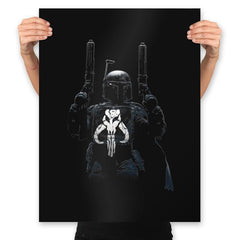 GALACTIC PUNISHER - Best Seller - Prints - Posters - RIPT Apparel