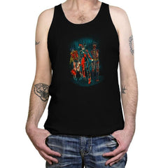 The Walking Caped Crusaders Reprint - Tanktop - Tanktop - RIPT Apparel