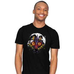 Power Behind the Mask - Graffitees - Mens - T-Shirts - RIPT Apparel