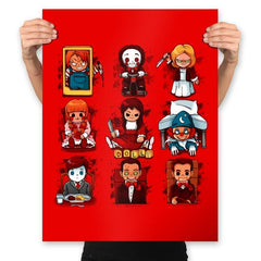 Horror Dolls - Prints - Posters - RIPT Apparel