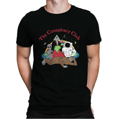 The Conspiracy Club - Mens Premium - T-Shirts - RIPT Apparel