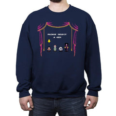 A Beach City Musical: The Video Game - Crew Neck Sweatshirt - Crew Neck Sweatshirt - RIPT Apparel