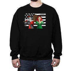 Siren Dreams - Crew Neck Sweatshirt - Crew Neck Sweatshirt - RIPT Apparel