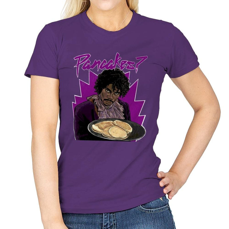 Pancakes - Anytime - Womens - T-Shirts - RIPT Apparel