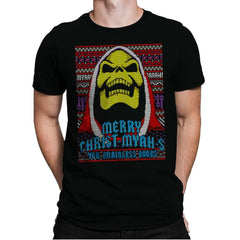 Merry Christ-Myah-s! - Ugly Holiday - Mens Premium - T-Shirts - RIPT Apparel