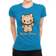 Hello Goose - Womens Premium - T-Shirts - RIPT Apparel