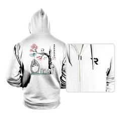 Growing Trees Sumi-e - Hoodies - Hoodies - RIPT Apparel
