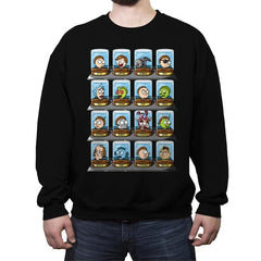 Morty-Rama - Crew Neck Sweatshirt - Crew Neck Sweatshirt - RIPT Apparel