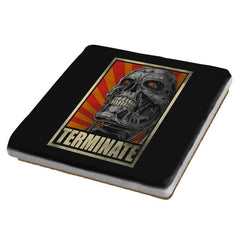 TERMINATE! - Coasters - Coasters - RIPT Apparel