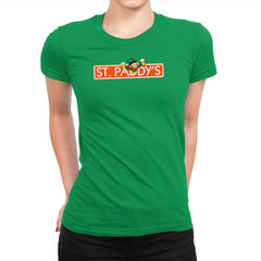 St. Paddy's Exclusive - St Paddys Day - Womens Premium - T-Shirts - RIPT Apparel