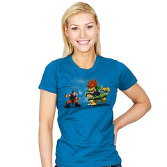 Fight the Mighty Bowly - Womens - T-Shirts - RIPT Apparel