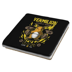 Vermilion Gym - New Year's Evolutions - Coasters - Coasters - RIPT Apparel