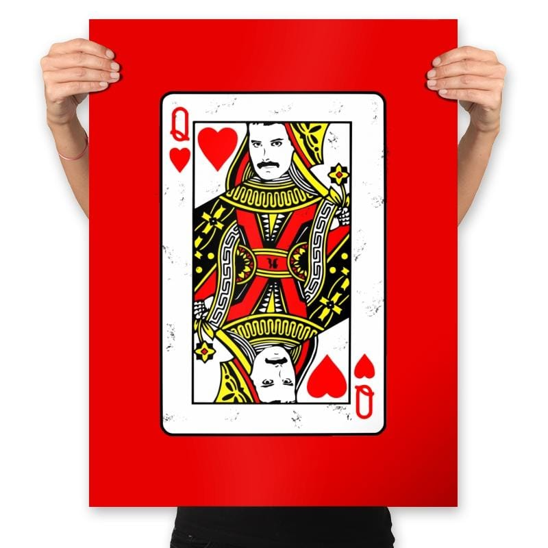 Queen Card - Prints - Posters - RIPT Apparel