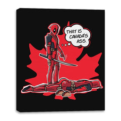 Canada's Ass - Canvas Wraps - Canvas Wraps - RIPT Apparel