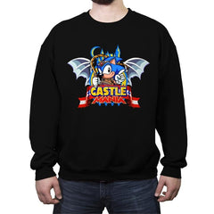 Castle Mania - Crew Neck Sweatshirt - Crew Neck Sweatshirt - RIPT Apparel