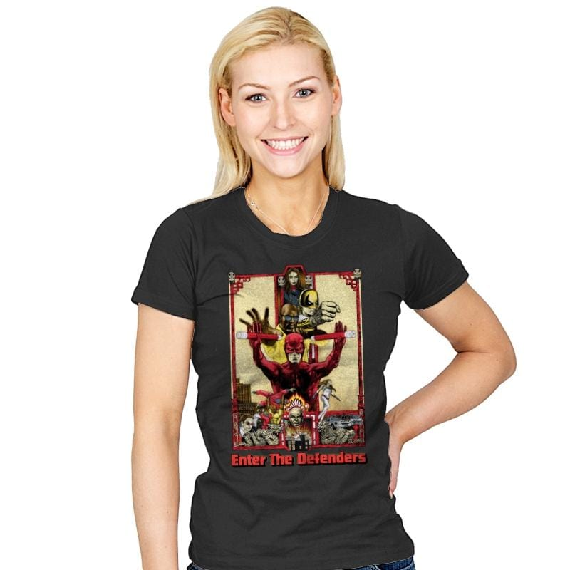 Enter the Defenders - Best Seller - Womens - T-Shirts - RIPT Apparel