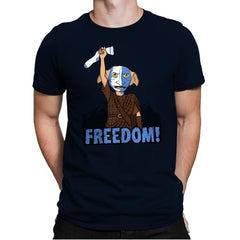 Freedobby - Raffitees - Mens Premium - T-Shirts - RIPT Apparel