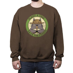 Save the Galaxy - Crew Neck Sweatshirt - Crew Neck Sweatshirt - RIPT Apparel