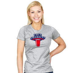 True American Champion - Star-Spangled - Womens - T-Shirts - RIPT Apparel