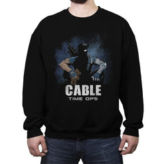 Cable Time Ops - Crew Neck Sweatshirt - Crew Neck Sweatshirt - RIPT Apparel