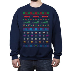 Frogs, Logs & Automobiles - Crew Neck Sweatshirt - Crew Neck Sweatshirt - RIPT Apparel