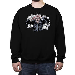 The Ash Laugh - Crew Neck Sweatshirt - Crew Neck Sweatshirt - RIPT Apparel