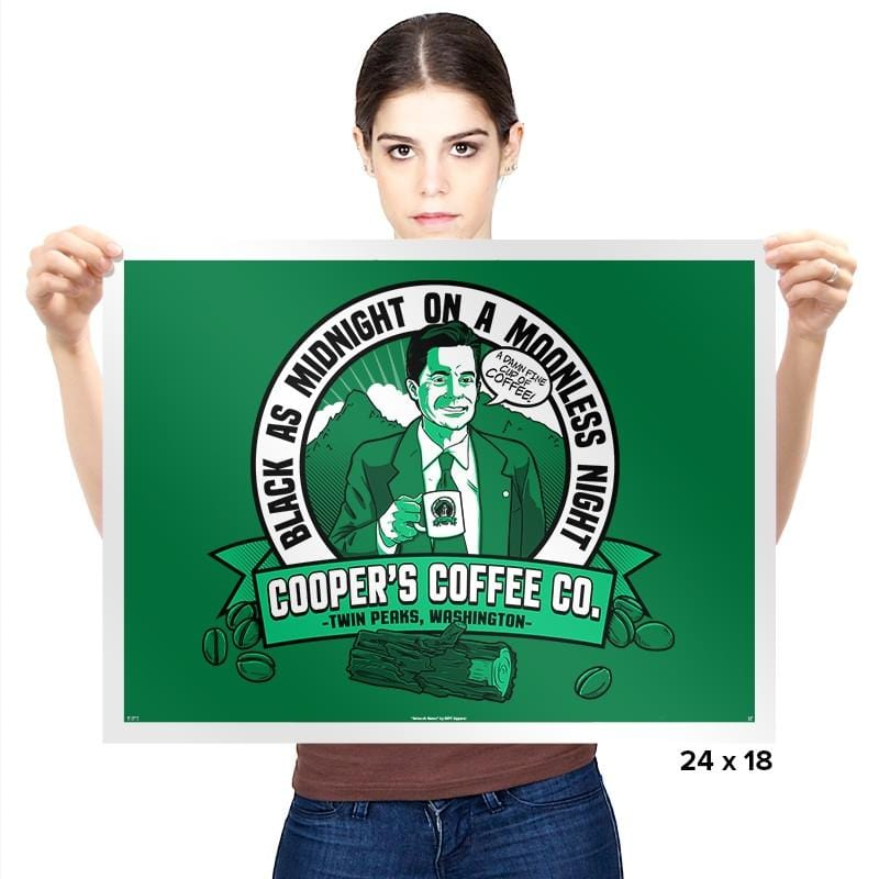 Cooper's Coffee Co. - Prints - Posters - RIPT Apparel