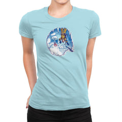 The Wampuft Marshmallow Man Exclusive - Womens Premium - T-Shirts - RIPT Apparel