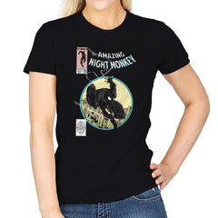 The Amazing Night Monkey - Anytime - Womens - T-Shirts - RIPT Apparel